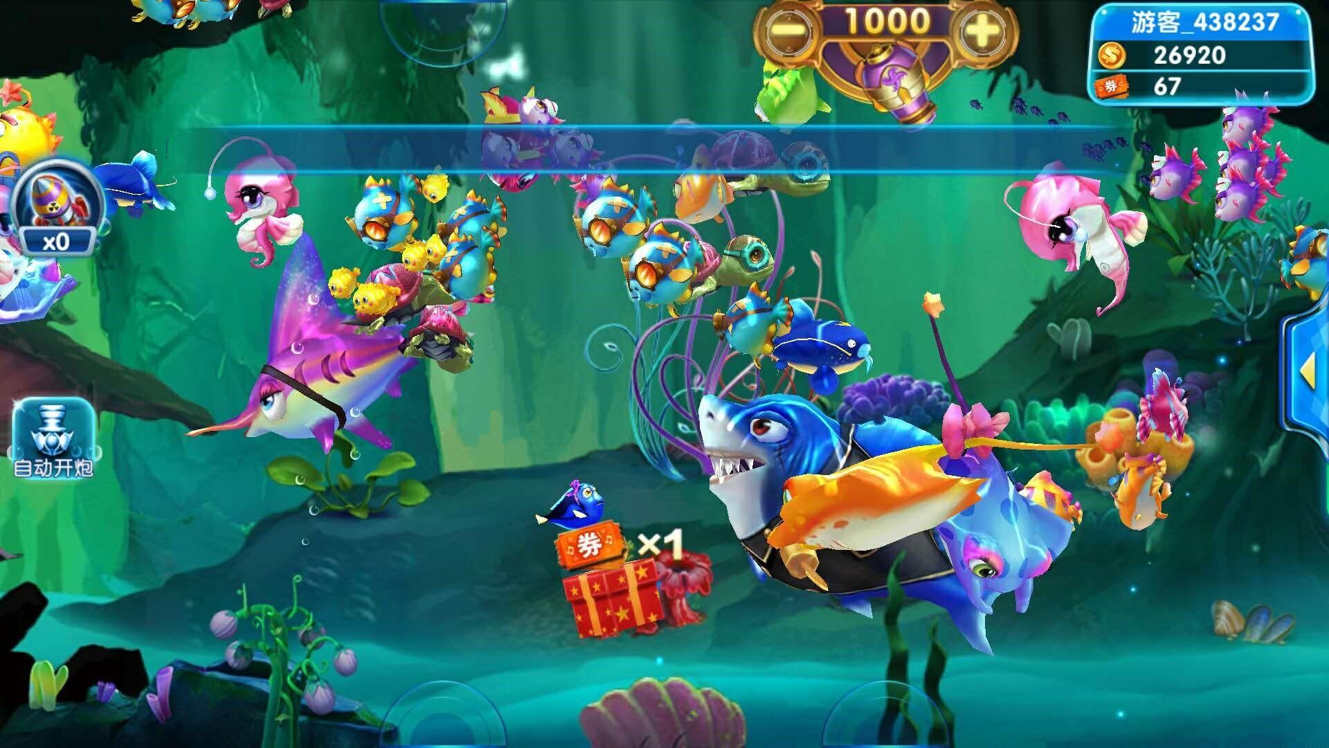 通过3d效果的描绘,整个海底世界在细节上变得更为精致,在色彩上变得