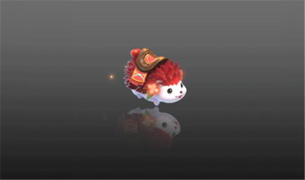 如此可爱的刺果猬,出现在三界洛阳城中时,却处于虚弱状态,而坐骑仙子