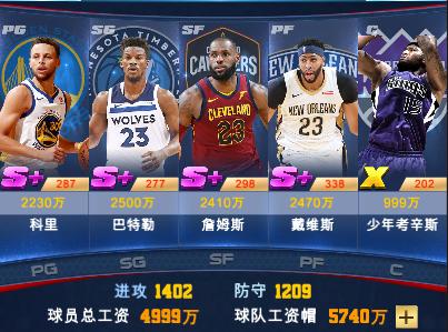 [王者NBA] 《王者NBA》-球员位置介绍 详解怎么玩